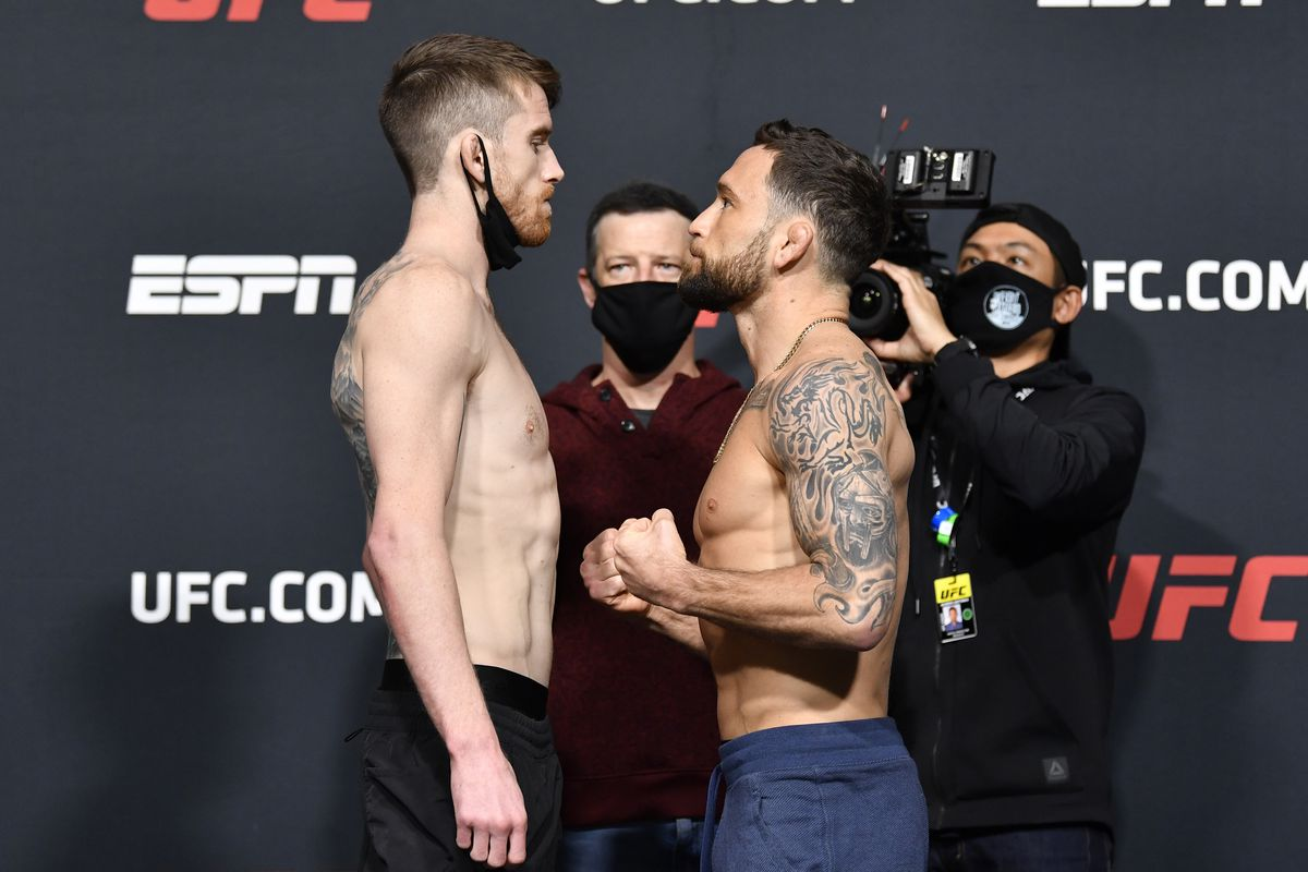 Image result for Cory sandhagen frankie edgar