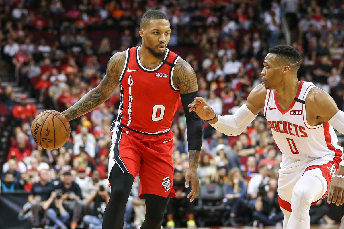 Image result for rockets vs blazers
