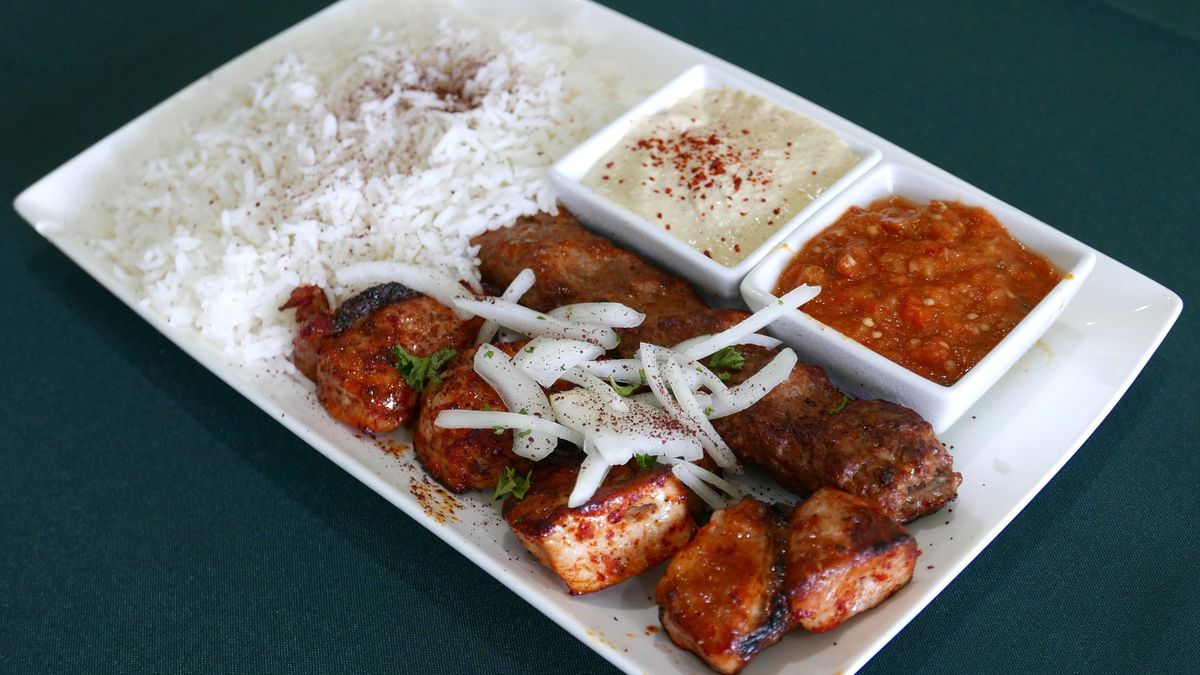 eat delicious armenian kebabs from tonir cafe nearby the hollywood