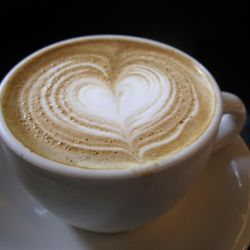 """<b>Cappuccino</b>: espresso, with thick, pillowy steamed milk. (<a href=""""http://www.foodgps.com/manhattan-coffeehouse-tour-and-impressions/"""" rel=""""nofollow"""">Photo</a>)"""