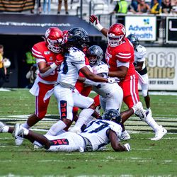 UCF defeats Houston in the annual Space Game, 44-29.