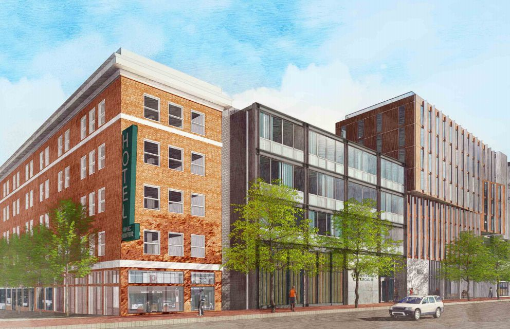 Five-building development with new park coming to MidMarket