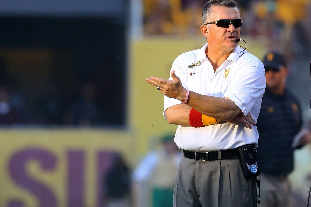Todd Graham is looking to take the next step with his ASU Sun Devils in 2015.