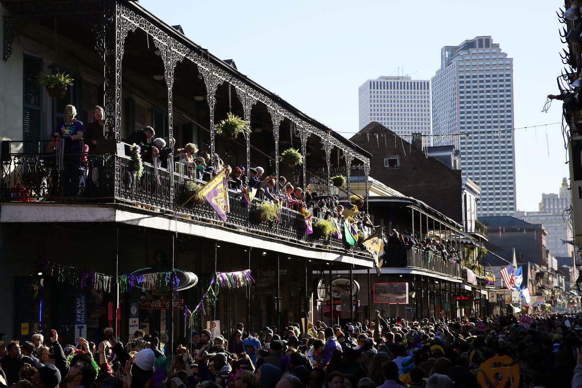 New Orleans Lets The Good Times Roll At Mardi Gras Celebration