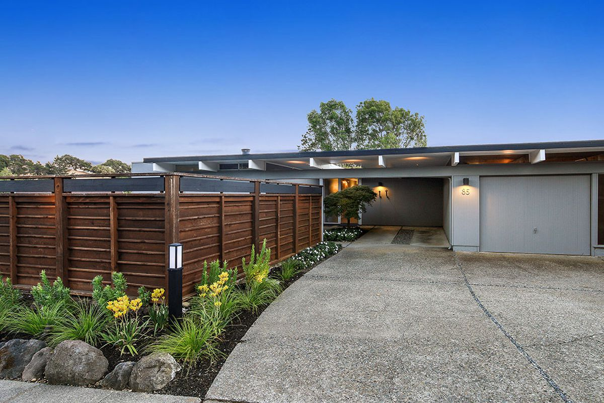 Eichler in san rafael is simply too much asks 1 6 for Eichler homes for sale