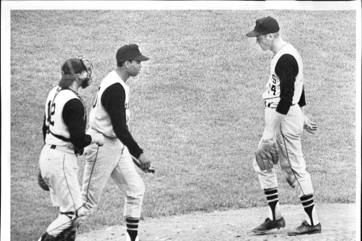 Pittsburgh Pirates Jerry May, Doc Ellis and Jim Bunning