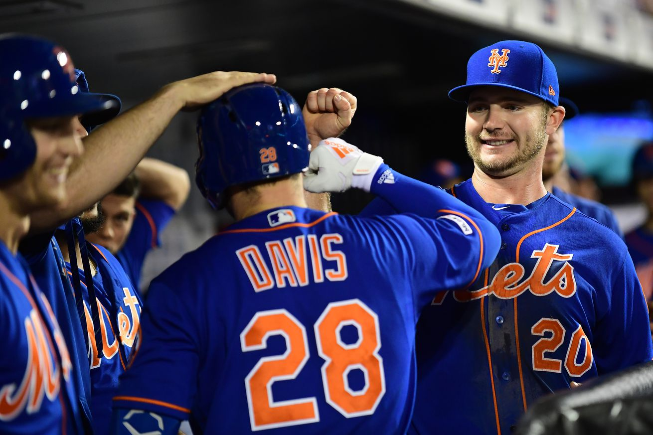 Pete Alonso makes history in win over Braves