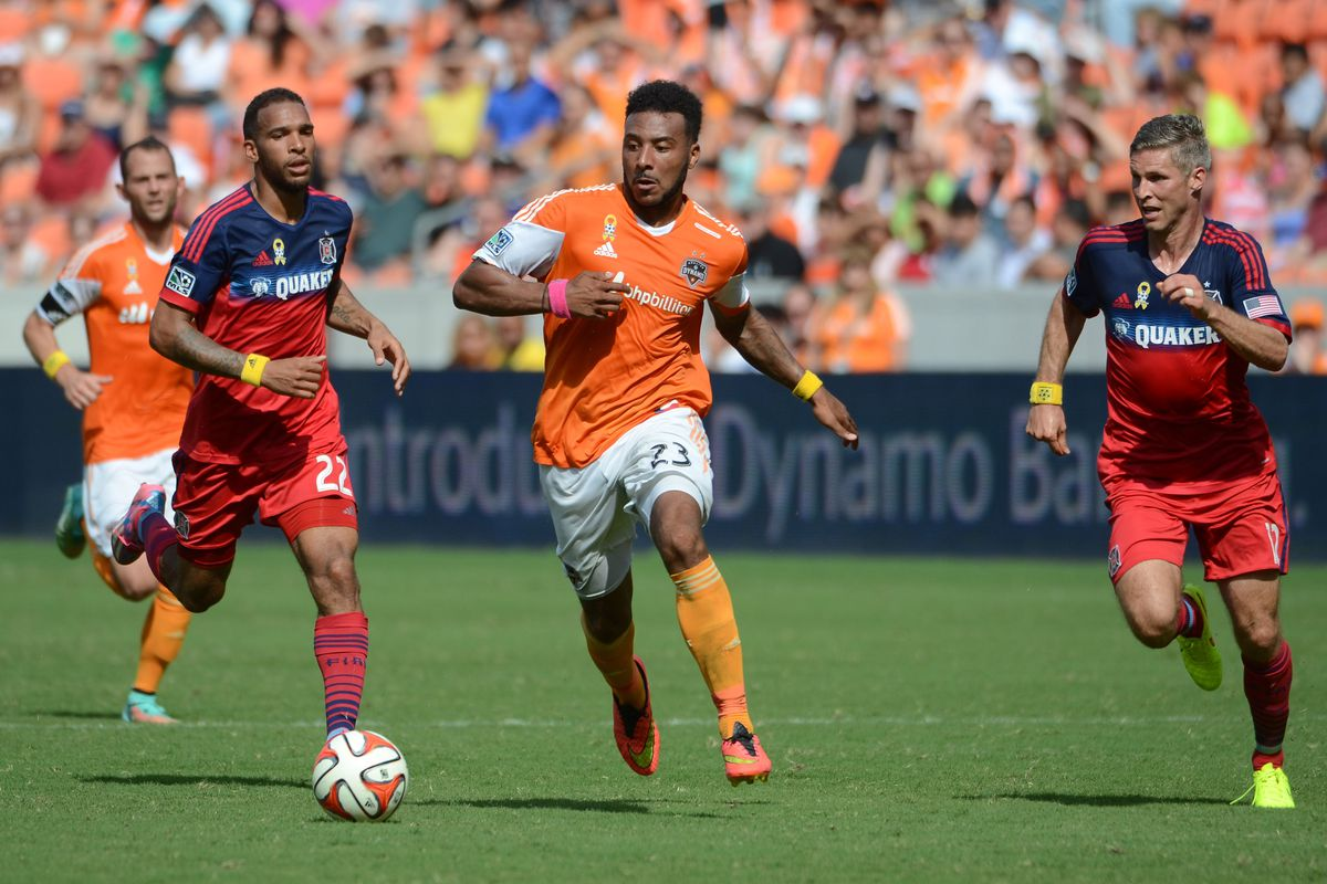 Giles Barnes led the Dynamo is scoring in 2014, will he again in 2015?
