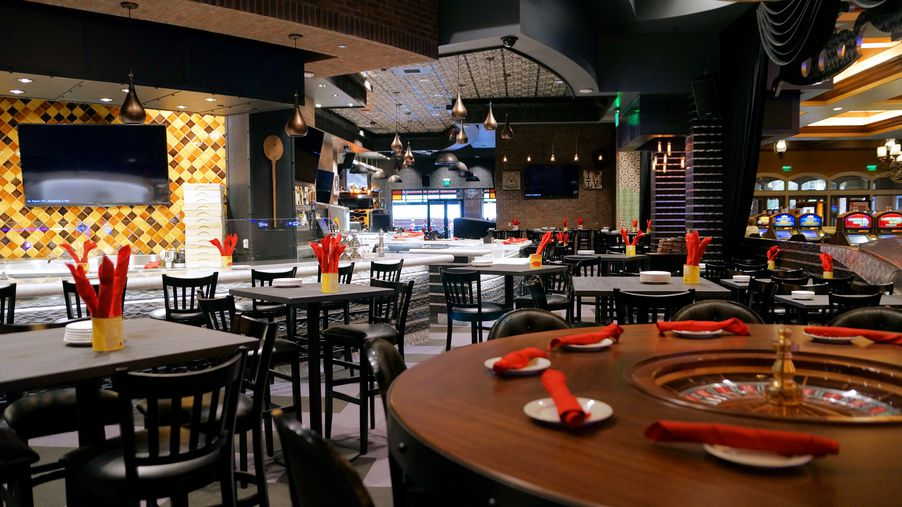 Pizza Rock Goes Very Vegas At Green Valley Ranch Eater Vegas