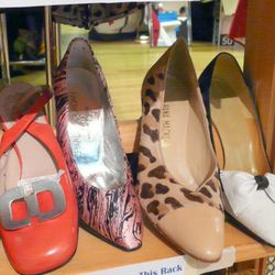 The captoe and animal print trend in one sassy shoe