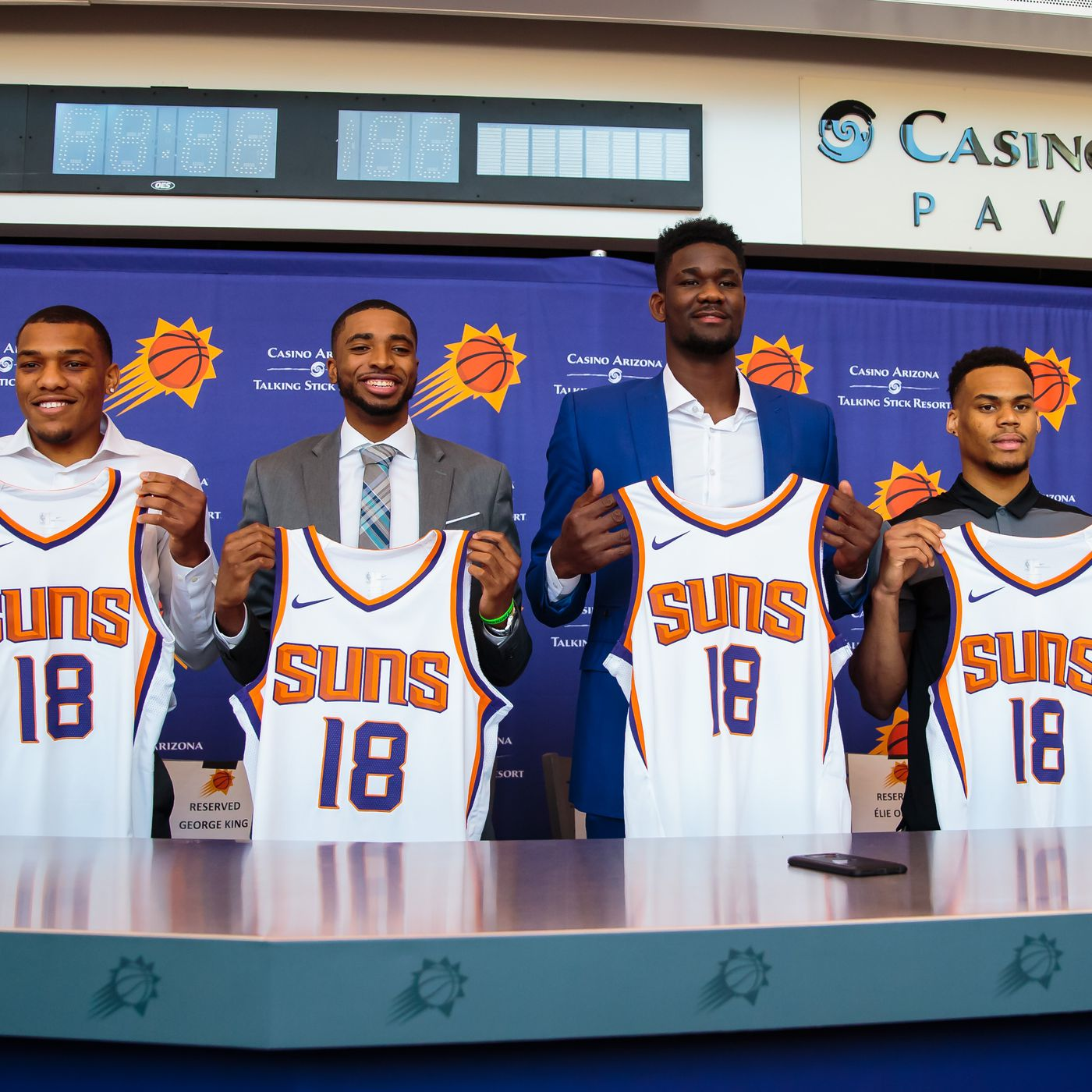 0ed14a94a76 Deandre Ayton finalist for Rookie of the Year; Mikal Bridges has case for  All-Rookie - Bright Side Of The Sun
