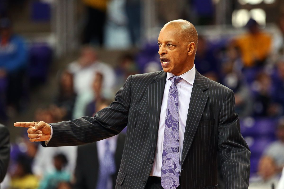 """""""I left LSU to coach *this* team?"""" TCU coach Trent Johnson questions his life choices."""