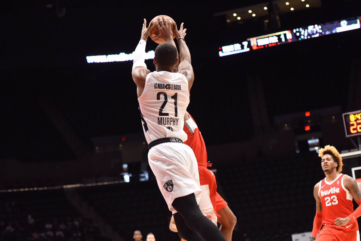 innovative design 8f475 885e9 Theo Pinson scores 28 to lead Long Island Nets to win over ...