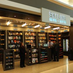 """The final stop, <a href=""""http://www.flysfo.com/content/skyline-news"""">Skyline News</a> at Gate 67 offers last-minute reading materials and chewing gum for the long flight ahead."""