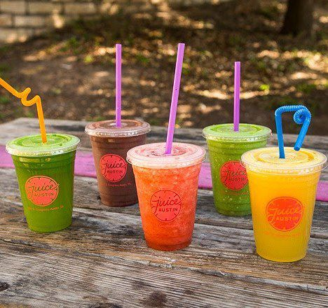 Juices from Juice Austin