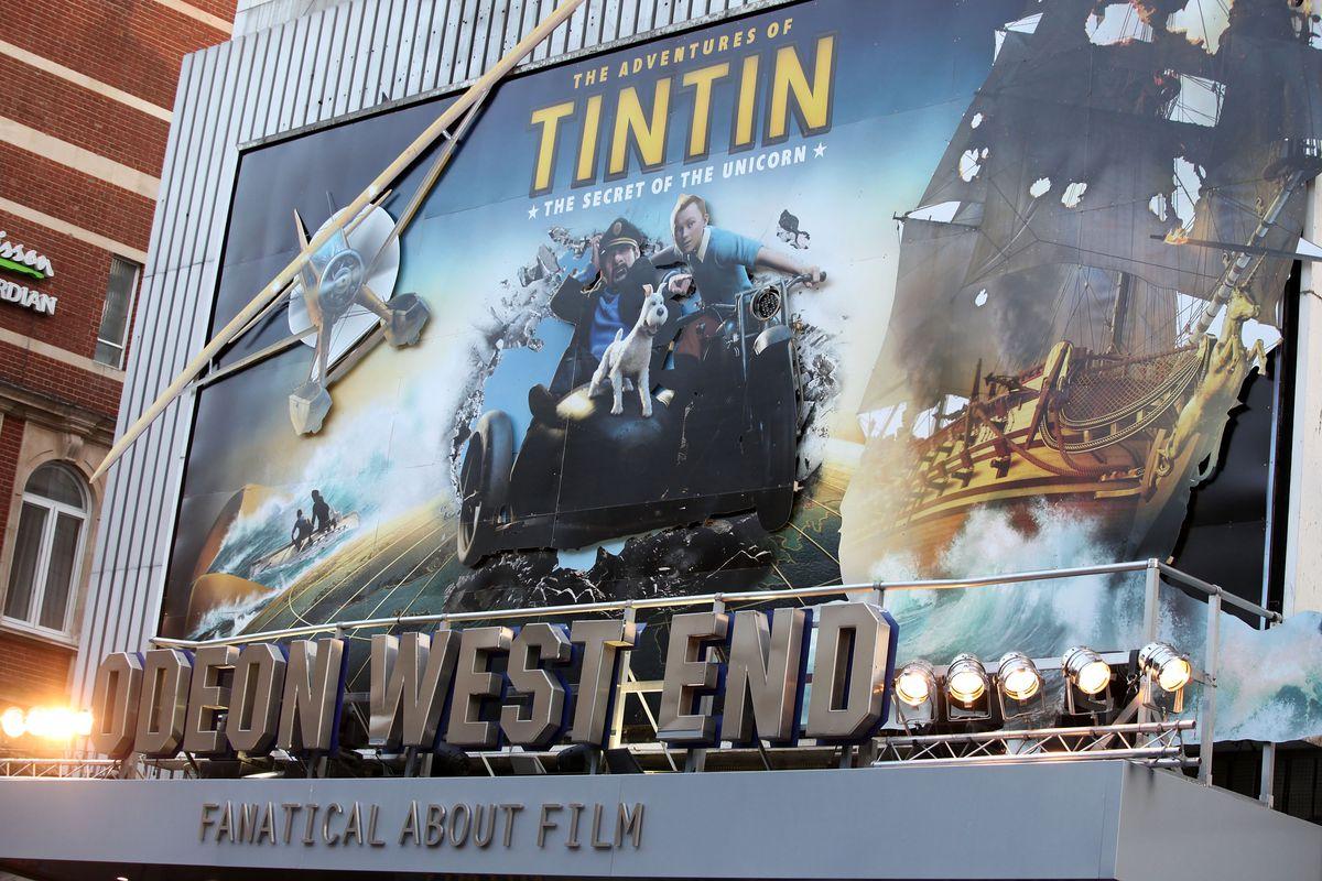 The Adventures Of Tintin: The Secret Of The Unicorn - UK Premiere