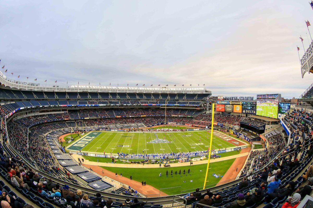 NCAA Football: New Era Pinstripe Bowl- Indiana vs Duke