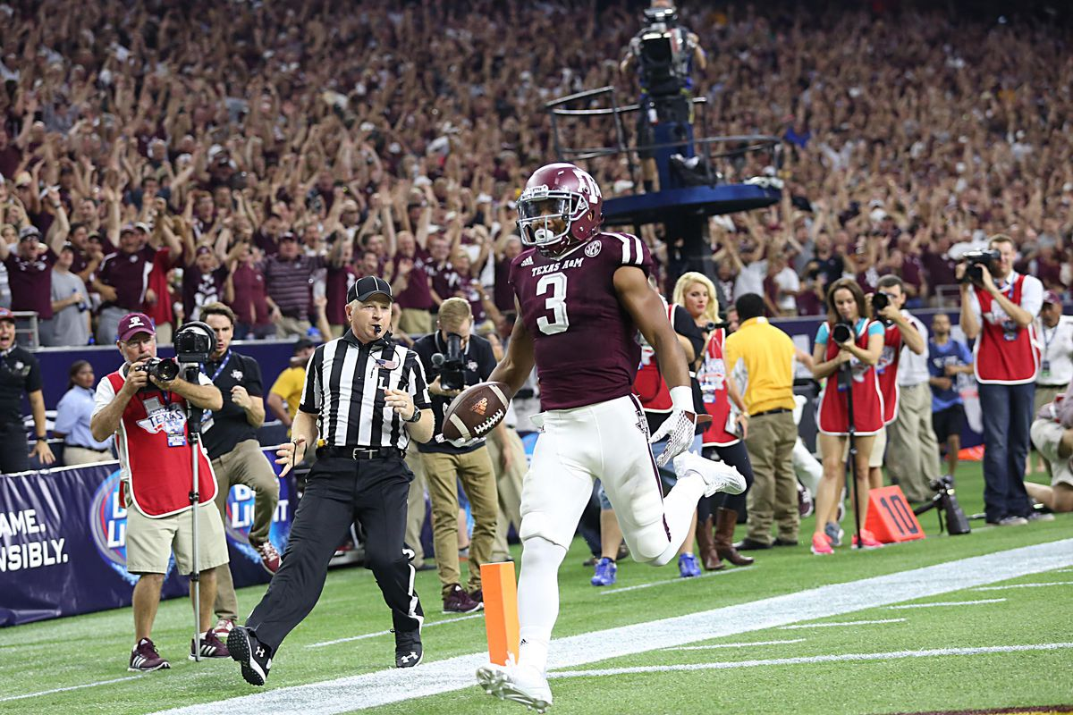 Texas A&M freshman receiver Christian Kirk looked like a star in the making in the Aggies' win over Arizona State.