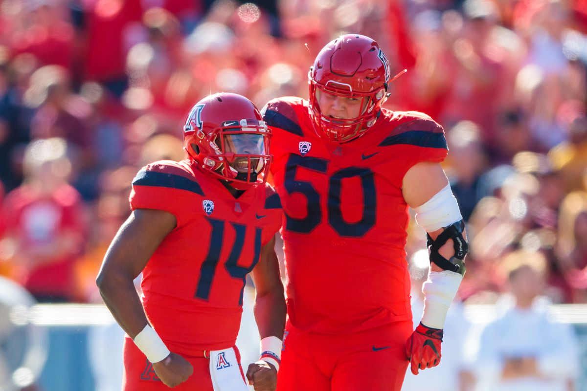 Arizona's 'ironman' center Josh McCauley still working for a scholarship
