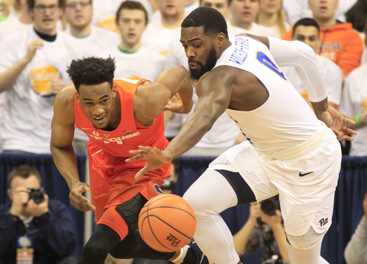 NCAA Basketball: Syracuse at Pittsburgh