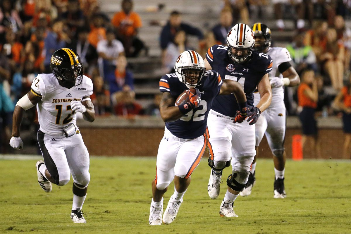 NCAA Football: Southern Mississippi at Auburn