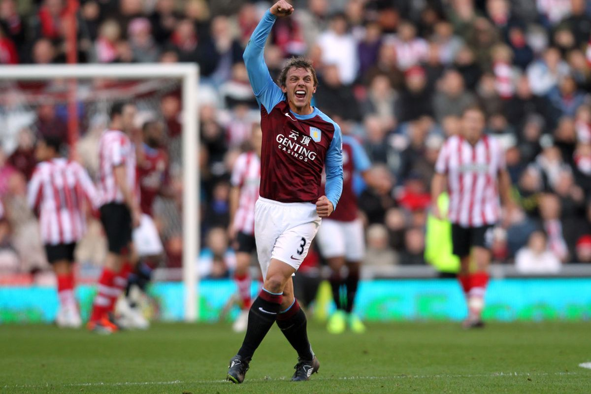Hey, remember when Stephen Warnock scored the first league goal against Manchester City? This is not a photo of it. But that was weird.