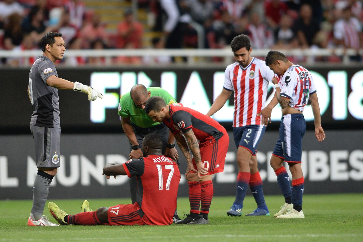 ft: chivas 1-2 toronto fc — reds fall on penalties in ccl final