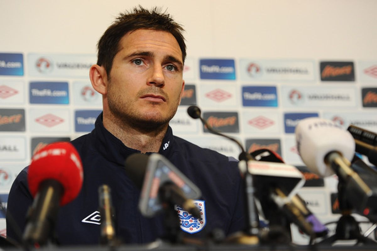 Frank Lampard to MLS? Sure. So long as he's willing to accept a massive pay cut. He knows about that, right?