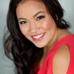 """Title: Miss Pacific Islander  Talent: Vocal, 'Here's Where I Stand""""  Platform: Celebrate Abilities"""