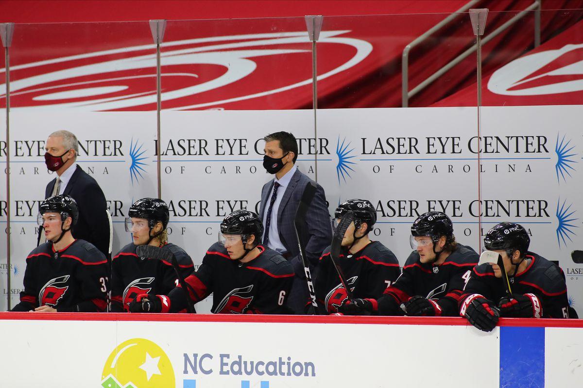 NHL: JAN 30 Stars at Hurricanes