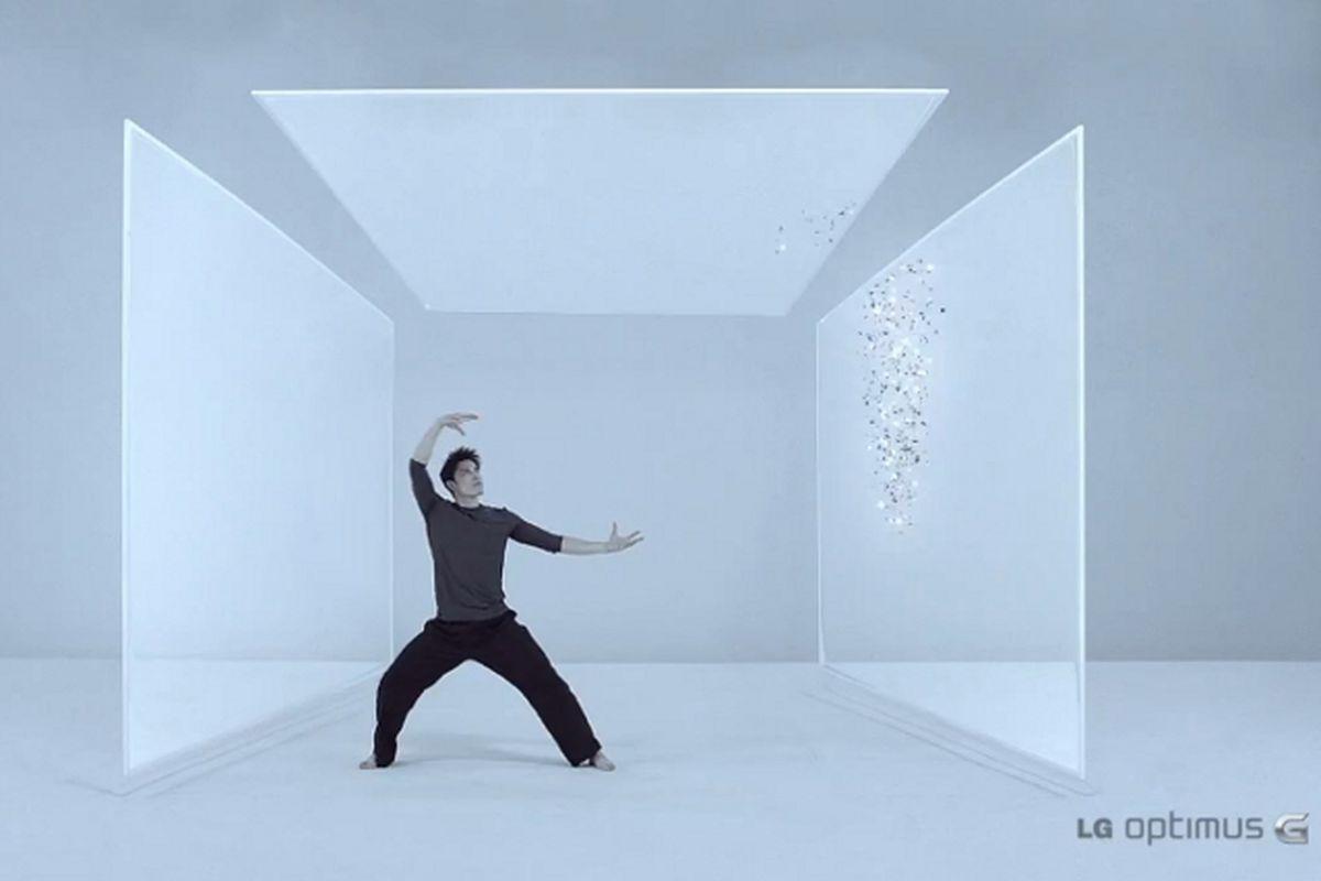 LG optimus G ad