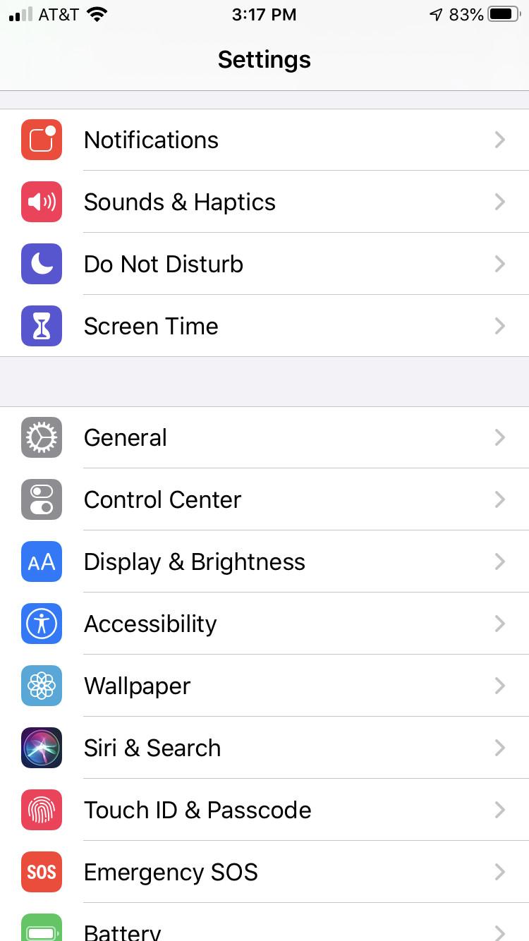 كيفية تسجيل الشاشة على ايفون