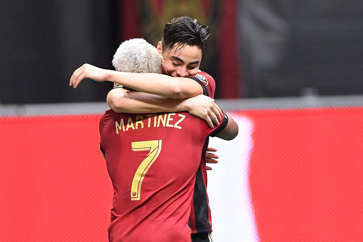 newest e81d5 541cd Miguel Almiron had the most sold MLS jersey in 2017 - Dirty ...
