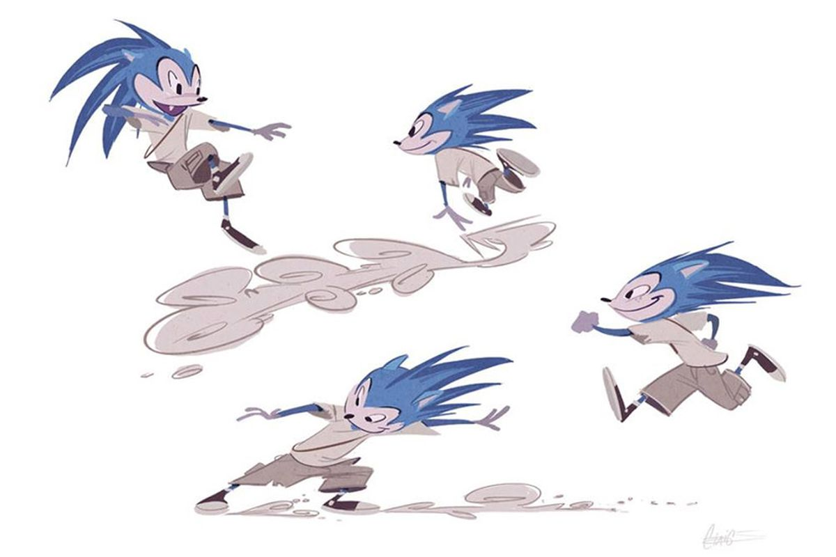 Take a peek at Sonic Boom's rejected Sonic the Hedgehog redesigns