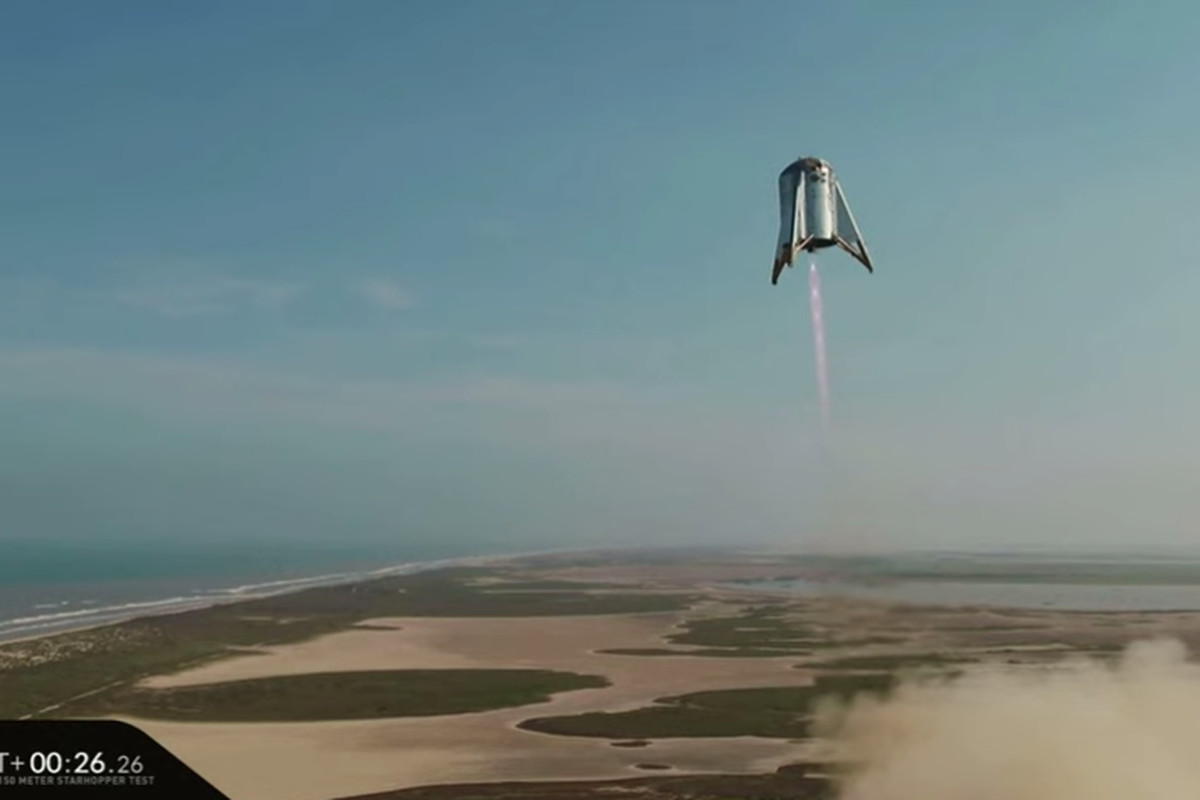 SpaceX's prototype rocket flies to its highest altitude yet during hover  test - The Verge