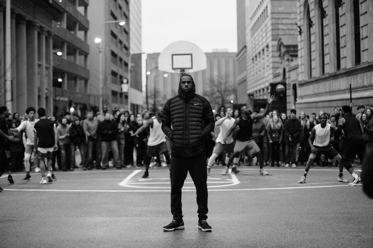 new product 4ffe4 935ec Watch: Nike releases EQUALITY ad featuring LeBron James ...