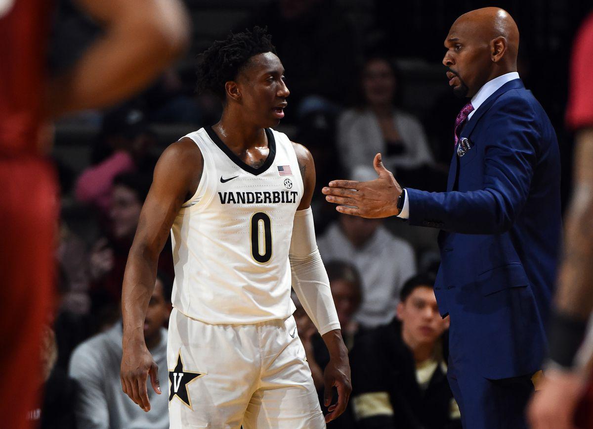 NCAA Basketball: Alabama at Vanderbilt