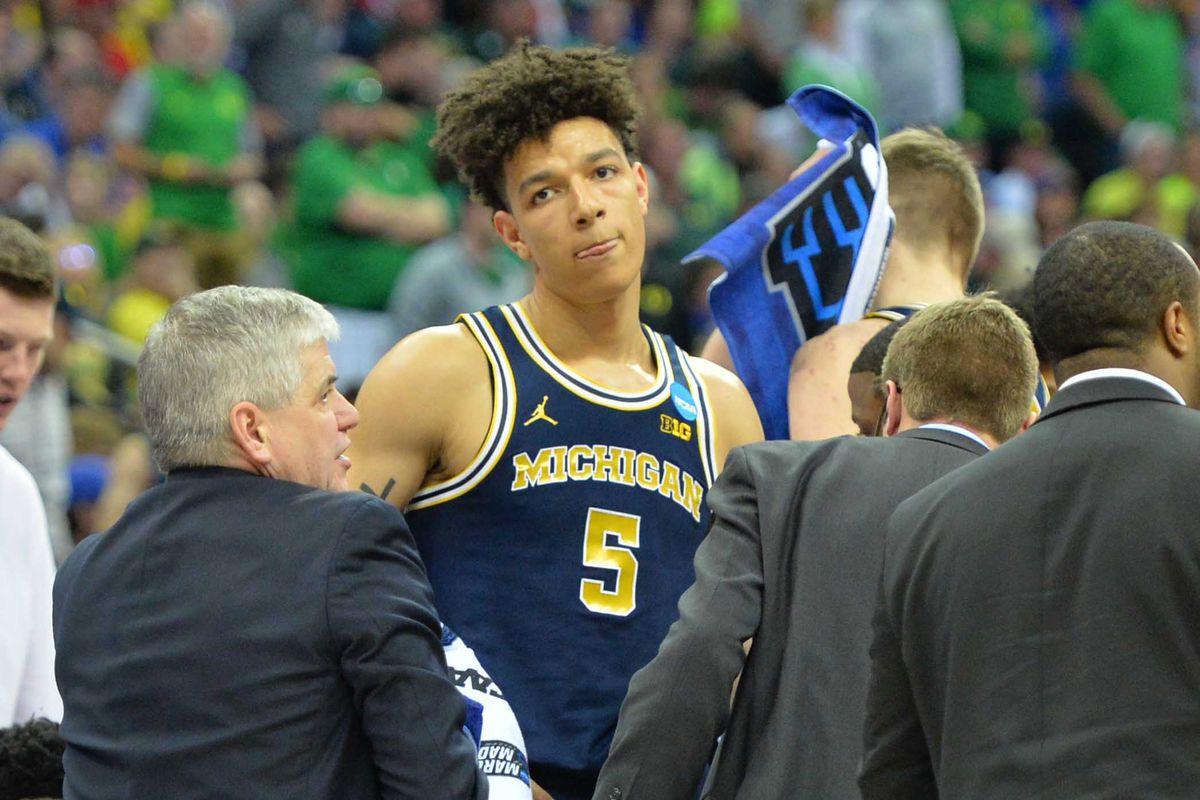 NCAA Basketball: NCAA Tournament-Midwest Regional-Oregon vs Michigan