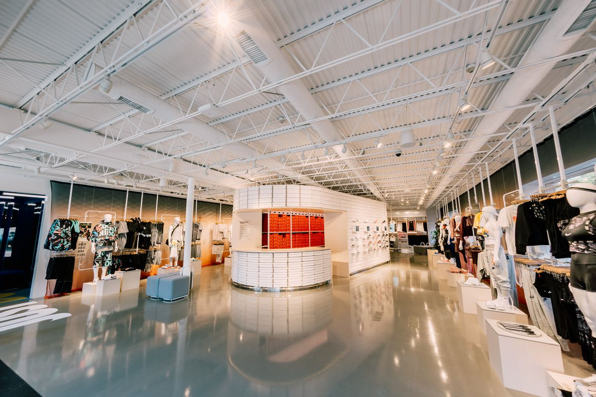 The Inside Of Nikes New Live Concept Store Nike By Melrose Photo