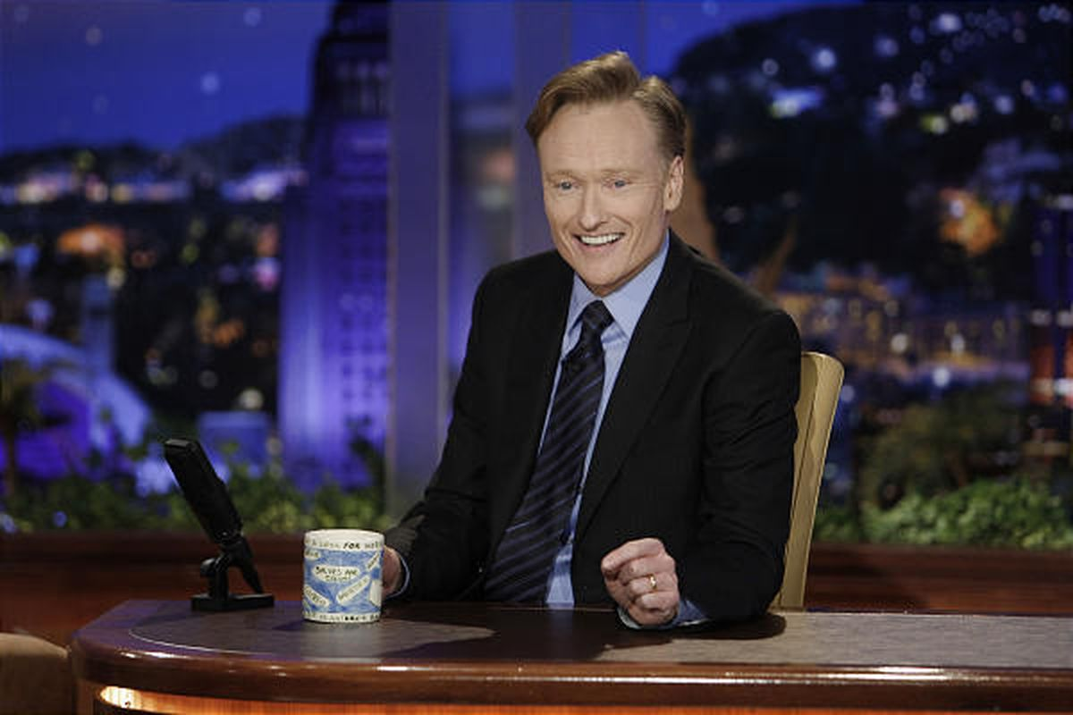 """Conan O'Brien took over as host of """"The Tonight Show"""" on June 1."""