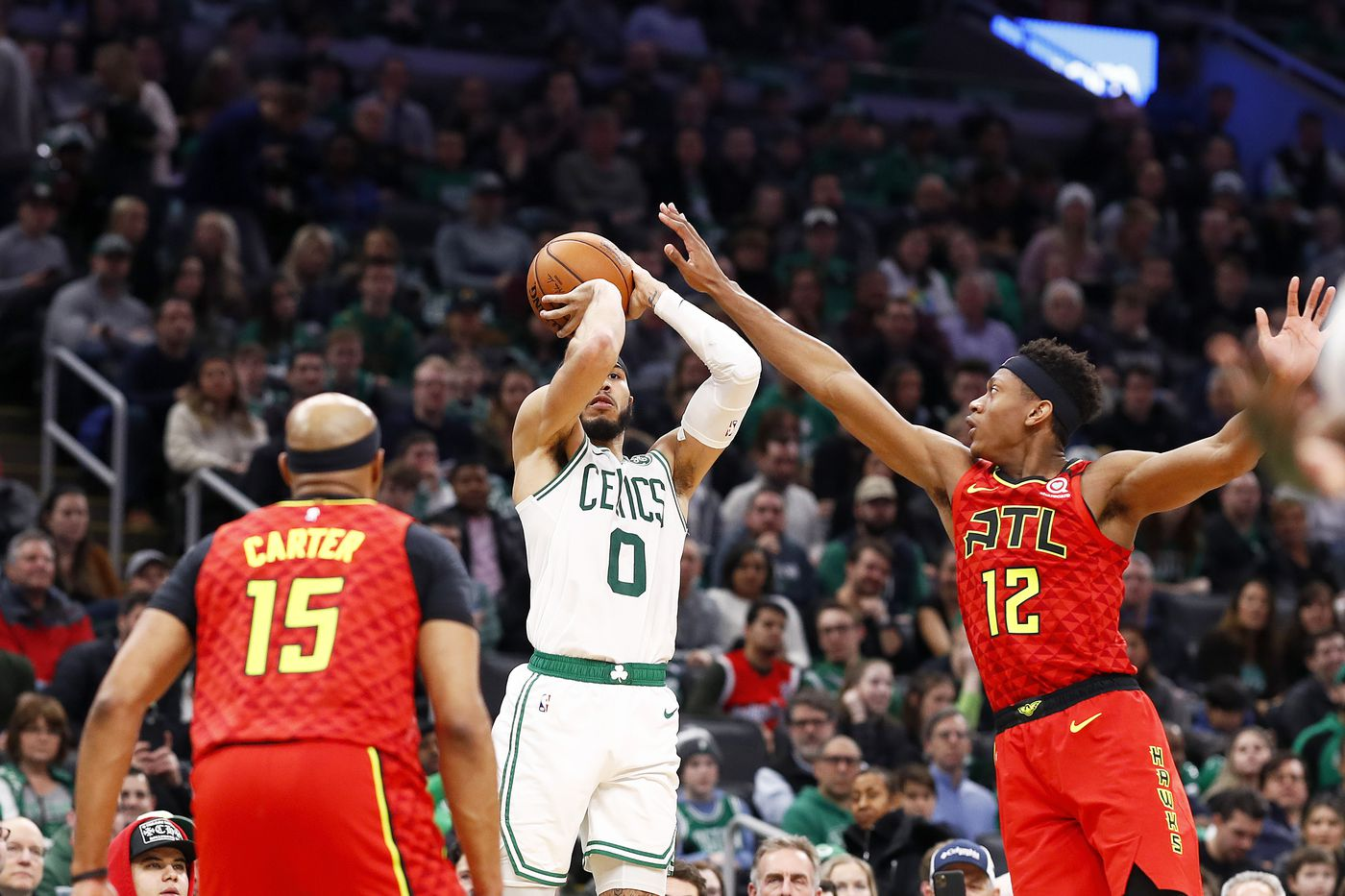 Jayson Tatum leads a team effort for sixth straight win: 10 Takeaways from Celtics/Hawks