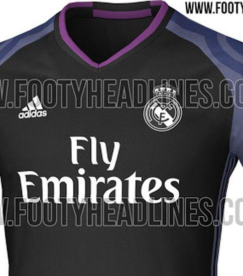 Real Madrid 16 17 Kit Leaked Managing 3rd 1617
