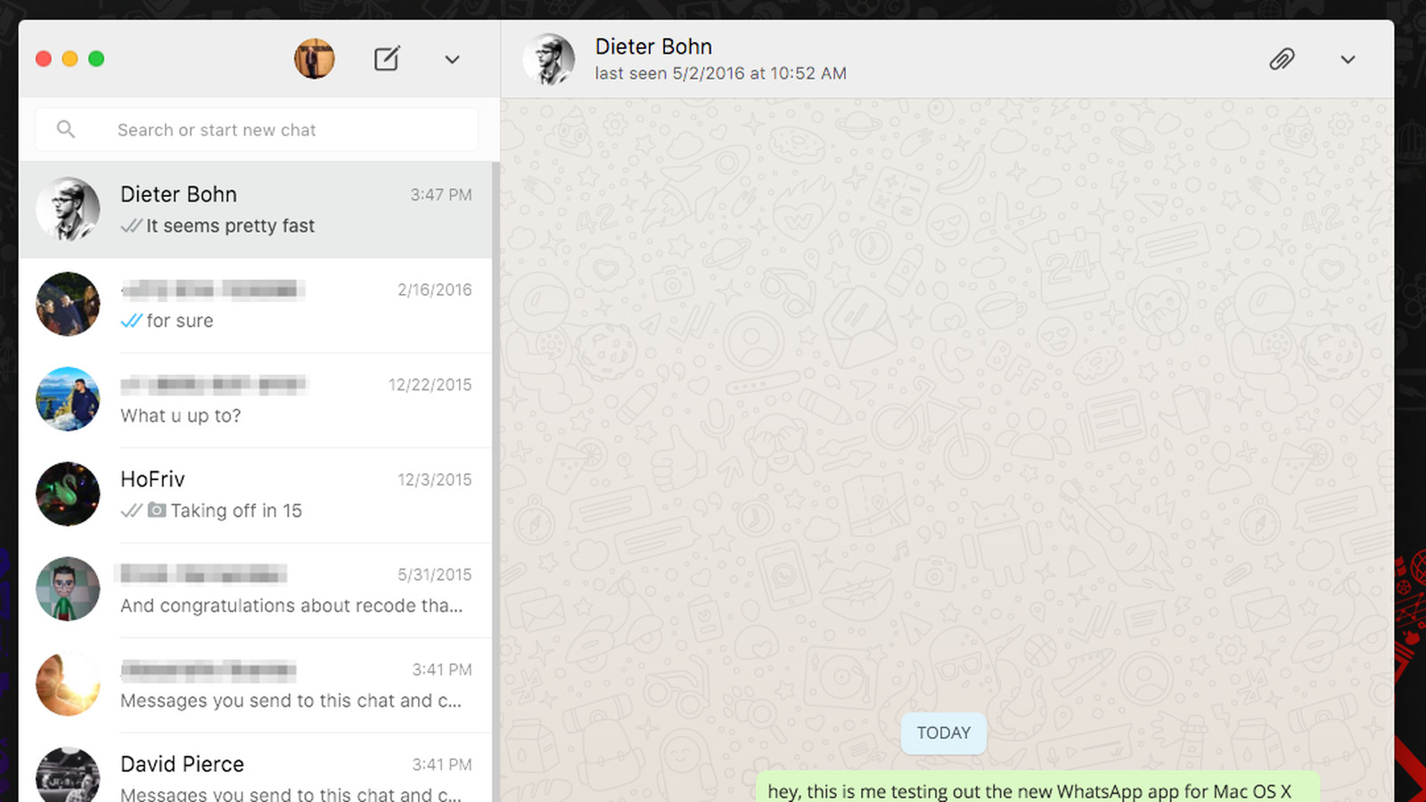 Whatsapp Just Released Desktop Apps For Mac And Windows The Verge