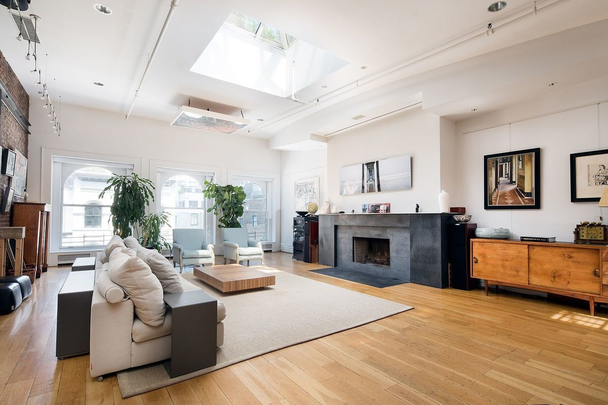 Duplex tribeca loft with lush private roof deck seeks 12m for Tribeca apartment for sale