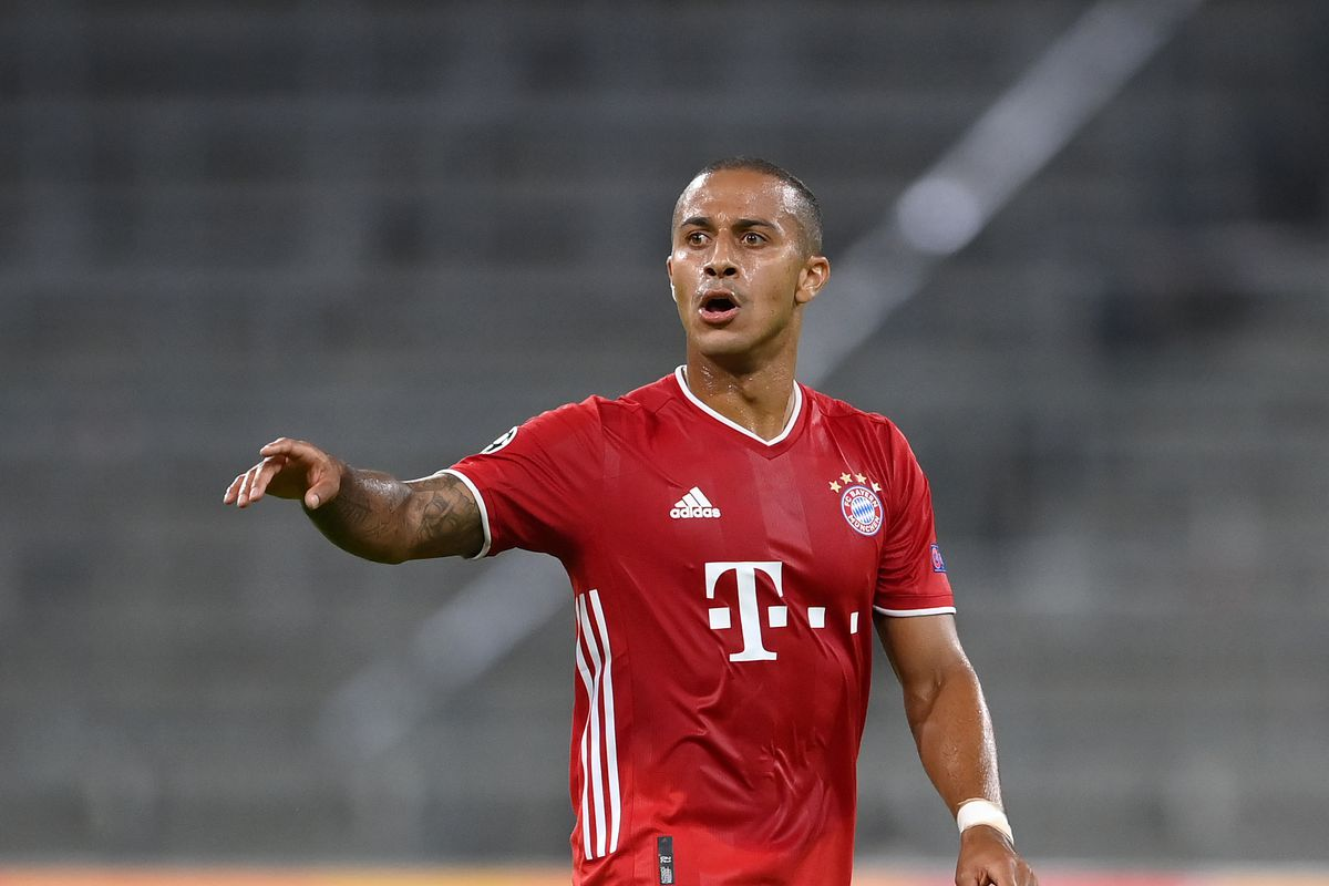 Manchester United Should Not Sign Thiago Alcantara From Bayern Munich The Busby Babe