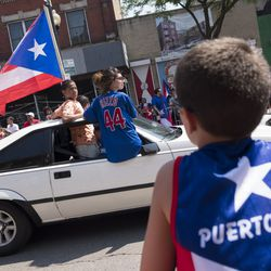 The Puerto Rican Peoples Parade in Humboldt Park in 2018. | Rick Majewski/For the Sun-Times.