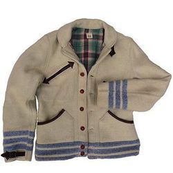 """For the outdoorsy hipster: Drover Blouse jacket, <a href=""""http://www.misterfreedom.com/drover-blouse-blanket.html"""">$869.95</a> at Mister Freedom"""