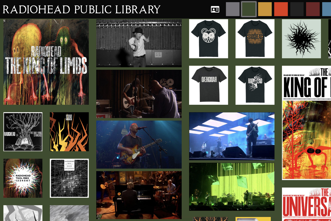 Radiohead Public Library screenshot