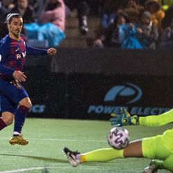 Griezmann's later winner spare Barca blushes at UD Ibiza