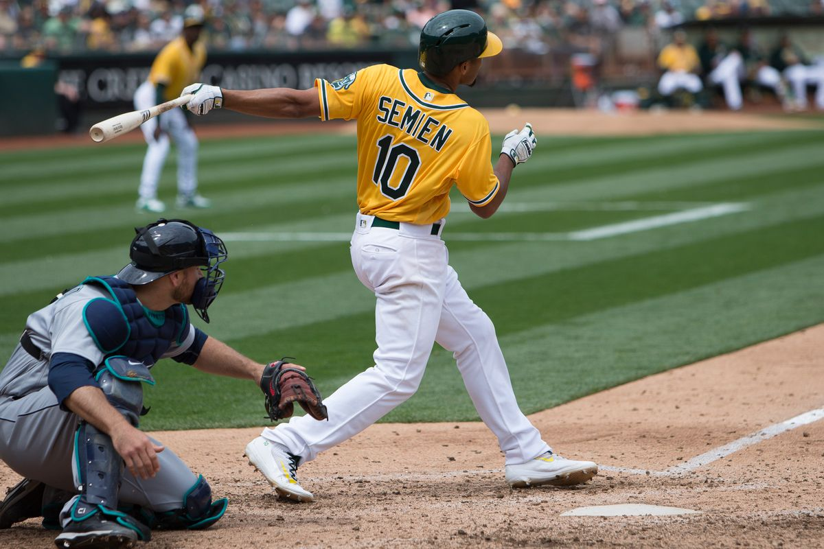 Marcus Semien deserves some love atop the Oakland A's lineup.